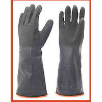Size Large Latex Wash Clean Hand Protector Gloves Industrial Rubber Gloves Hand