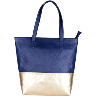 Baginni Bluegold Handbag