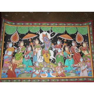 Pattachitra Painting(colourful)