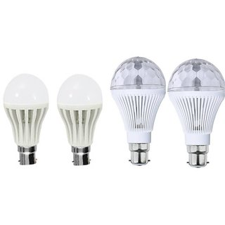 sprkl perfect lighting combo of 4 led light bulbs
