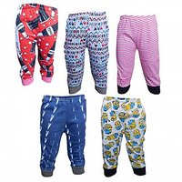 JF Kids Capri with Rib Assorted Color Pack of 5 Unisex