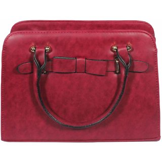 BagsHub Maroon Fashion Bag (B0680-0000100046-V0014)