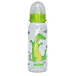 Nuby 250Ml Printed Standard Neck Bottle (Designs May Vary)