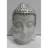 Thai Buddha Porcelain Face Head Idol Free Shipping Fast Ship