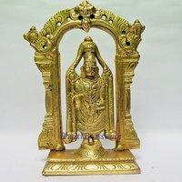 BTBJ103 Brass Statue  Of Lord Tirupati Bala Ji