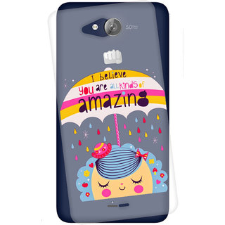 Snooky Printed transparent Silicone Back Case Cover For Micromax Canvas Play Q355