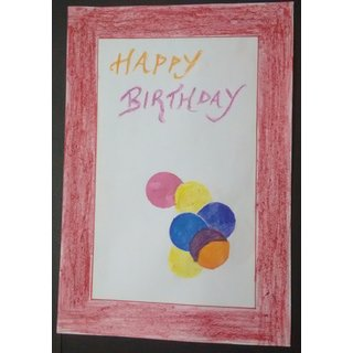 The Colorful Pong - An abstract Birthday Greetings by GoArtistic