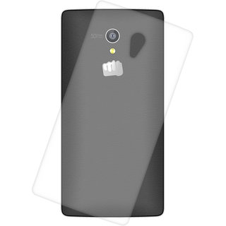 Snooky transparent Silicone Back Case Cover For Micromax Canvas Fire 4G Q411