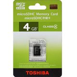 Toshiba 4 GB MicroSD Card (Class 4)