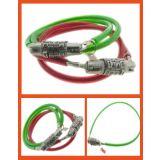 Multi-Utility Chain Cable BIKE / HELMET CABLE LOCK Bike Helmet Lock