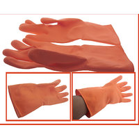 Gloves Long Cleaning Latex Gloves Kitchen Hand Gloves Household