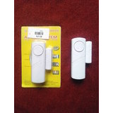 90dB Window And Door Magnetic Sensor Anti-Theft Security Alarm System - White