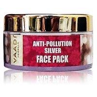 Silver Face Pack - Pure Silver Dust  Lavender Oil 70gm@se