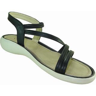 Croc International Women Black Sandals
