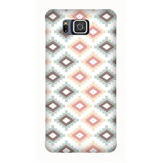 Super Cases Premium Designer Printed Case for Samsung Galaxy Alpha