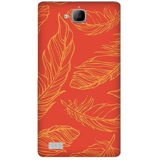 Super Cases Premium Designer Printed Case for Huawei Honor 3C