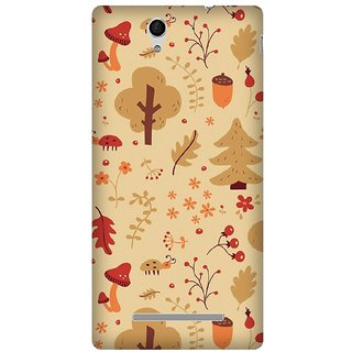 Super Cases Premium Designer Printed Case for Sony Xperia C3