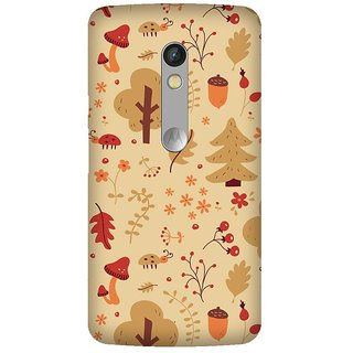 Super Cases Premium Designer Printed Case for Moto X Play