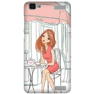 Super Cases Premium Designer Printed Case for Vivo V1 Max