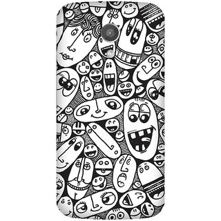 Super Cases Premium Designer Printed Case for Moto G2