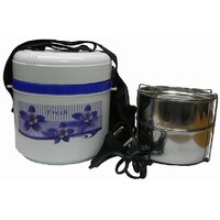 Electric Hot Case Tiffin / Lunch Box 2 Compartments