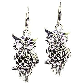 Factorywala Girls Ethnic Wear Designer Oxidized Silver Earring