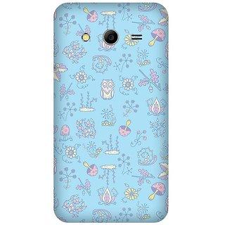 Super Cases Premium Designer Printed Case for Samsung Core 2