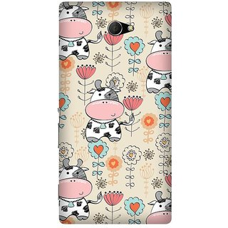 Super Cases Premium Designer Printed Case for Sony Xperia M2