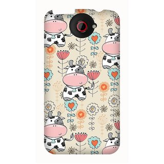Super Cases Premium Designer Printed Case for HTC One X