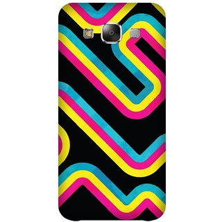 Super Cases Premium Designer Printed Case for Samsung Galaxy E7