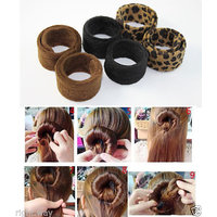 Hairagami Hair Bun Fold Wrap  Snap Styling Tool Hair Accessories Hair Band Clip
