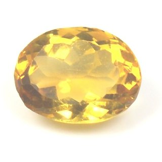 3.5 Ratti Natural Citrine Sunella Loose Gemstone For Ring  Pendant