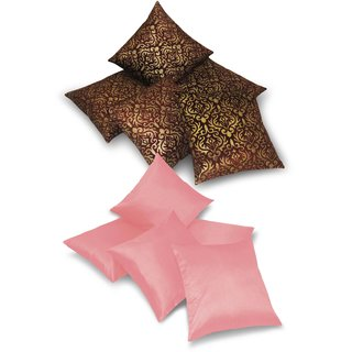 Cushion Covers Set 40 X 4 CMS -Buy 5 Get 5 (ZEB5G5-10 pcs