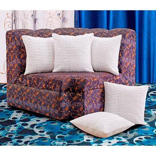 Dekor World Pelt Bonanza Cushion Covers (Pack Of 5 pcs