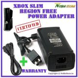 Power Supply 220v AC Console Adapter For Microsoft Xbox 360 S Slim Kinect Models US / UK / India