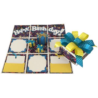 Birthday Handmade Explosion Gift Box - Party Time