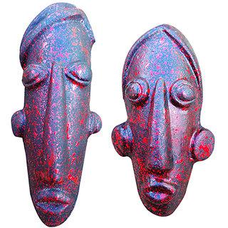 moedern wall hanging terracotta mask
