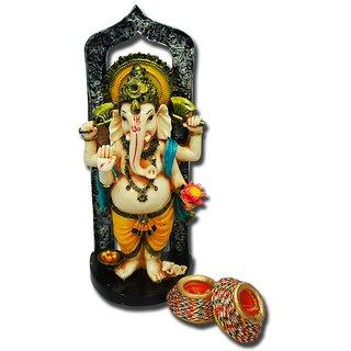 Giftcart - Ganesha Statue Combo For Diwali