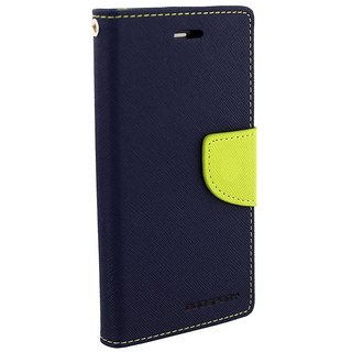 Sami Flip Cover For Lenovo A6000 - Blue