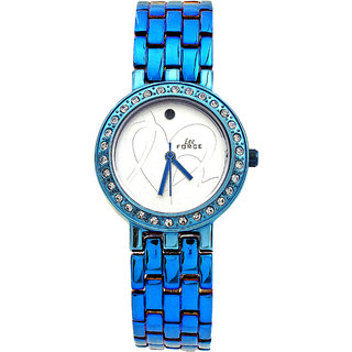 Lee Force Casual Blue Metal Strap Wrist Watch For Women