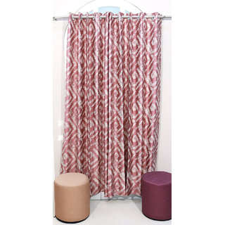 Urban Hues  Mystical Peach Curtains