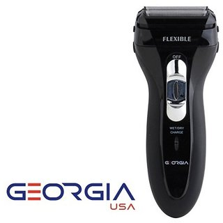 GeorgiaUSA GR-201 Reciprocating Dual Blade Rechargeable Shaver