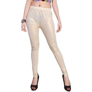 Lakesh Cream Shimmer Legging