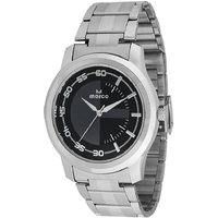 MARCO Analog Silver Leather Watch For Men - 99247096