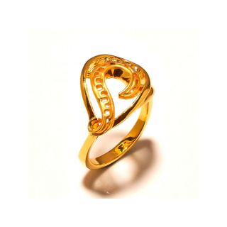 sanaa creations Stylish Gold Plated designer Ring