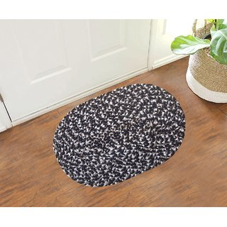 Multicolor Oval Shape Door mats (Set Of 4)