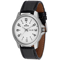 MARCO Analog Black Leather Watch For Men - 99247538