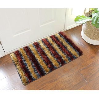 Shaggy Floor Mats - Set Of 2