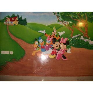 Micky Mouse Handmade Painting