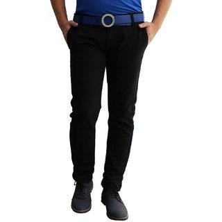 Stretchable Black Lycra Jeans